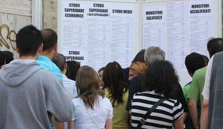 Șomajului în rândul tinerilor este în creștere. A ajuns la 17%